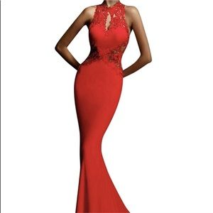 Dresses & Skirts - Sexy Red Ball Gown